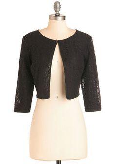 Work Appropriate - A Presh Start Jacket in Black