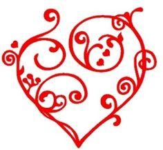 Cœur en arabesque Arabesque, Arabic Calligraphy, Patterns, I Don't Care, Embroidery, Heart, Block Prints, Arabic Calligraphy Art, Pattern