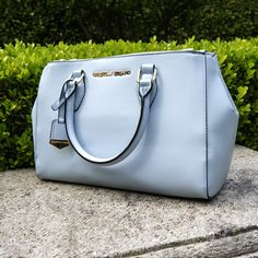 Add the Bethanne satchel to your look for a pop of spring color!