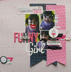 Funny Girl - Scrapbook.com