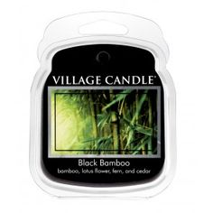 Village Candle Wax Melt - Black Bamboo