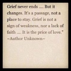 Today I learned about the sudden, unexpected passing of a young man from an aneurysm - he was a husband, father, friend, fire fighter, and more. This quote seemed appropriate In light of this tragedy. It reminded me that life can suddenly, dramatically, change in a heartbeat.  Each day, let us be thankful for all that we have. ~ SHW