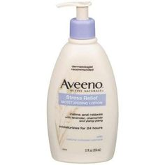 Aveeno Stress-Relief Moisturizing Lotion Body Moisture, 12 oz | $7 | **USED: Feels so nice on skin and the smell is DIVINE!! It really does help to relax me.**