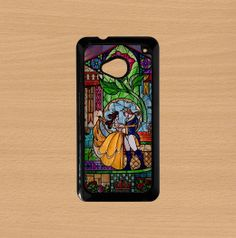 Htc One case,Htc M7 case,Htc One S case,Htc One X case,Sony Xperia Z1 case,Sony Xperia Z case,Google nexus 4--beauty and the beast,plastic. by Doublestarstar, $14.99