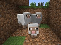 I got: Sheep! Which Minecraft Animal Are You?