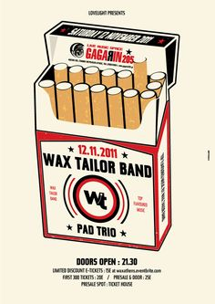 Wax Tailor - Indyvisuals Design Collective
