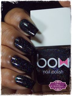 Esmaltadas da Paty Domingues: Dark Days - Bow Nail Polish