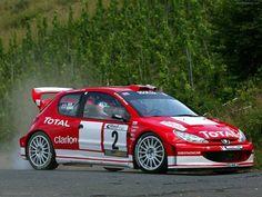 Peugeot 206 WRC ADAC Rallye Deutschland