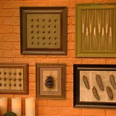 #ClintonsCraftCorner: Autumn Nature Frames #TheChew