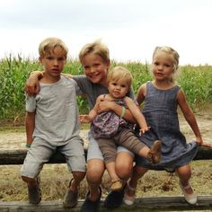 @Mike Tucker Adamo these four blondies are missing their dada! xo