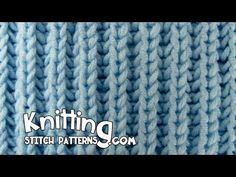 The Fisherman's Rib is a ribbing pattern stitch so it will pull in. You may sometimes see it referred to as Shaker Rib. ++ Detailed written instructions: htt...