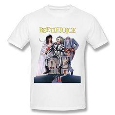 Mens Beetlejuice Dvd Cover T-shirt L @ niftywarehouse.com #NiftyWarehouse #Geek #Horror #Scary #Halloween