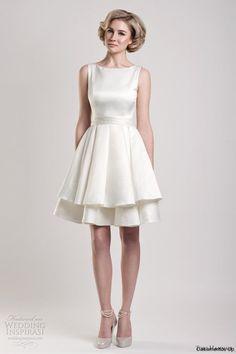 vestidos de noiva curto e moderno - Pesquisa Google