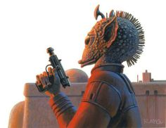 Greedo by Ralph McQuarrie