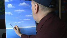 Peindre Les Nuages A L'Acrilique Leçon 1 Cour de peinture classe