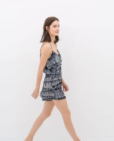 Image 3 of PRINTED PLAYSUIT from Zara