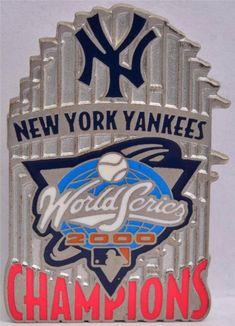 2000 Lapel Hat Pin New York Yankees Subway World Series Mets MLB Baseball