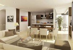 Simple but pretty interior design for small spaces