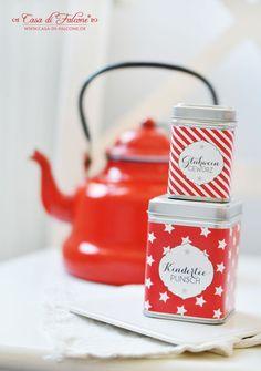 Glühweingewürz Rezept I Verpackung I Geschenke aus der Küche I Casa di Falcone