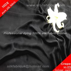 12mm silk crepe de chine fabric-black http://www.silkfabricuk.com/12mm-silk-crepe-de-chine-fabricblack-p-332.html
