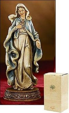 Immaculate Heart of Mary Catholic Statue