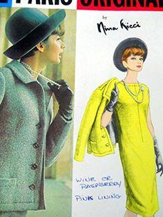 Vogue Sewing Pattern 1313 Nina Ricci Paris Original UNCUT Size 10 Dress Jacket Vogue http://www.amazon.com/dp/B012140BWO/ref=cm_sw_r_pi_dp_Zb9Zvb1NHVJYB