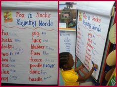 Do this activity after reading Fox in Socks