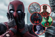 Ryan Reynolds said there were over one hundred, and he wasn't lying.