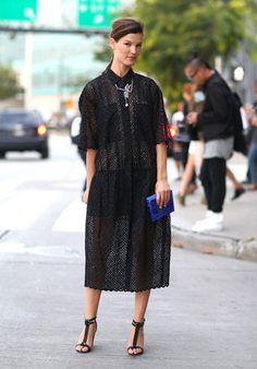 Маленькое черное платье по версии модных блоггеров, икон стиля и прочего стритстайла! - Создай свой стиль