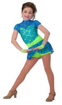 Tap Jazz Acro Hip Hop Dance Costume