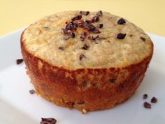 Banana Cacao Chip Muffin - The Kitchen Table - The Eat-Clean Diet®