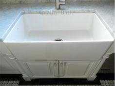 "Blanco Cerana Apron Front 33"" White Sink"