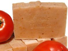 CREOLE TOMATO  Cold Process Soap  Handmade by sweetolivesoapworks, $5.50
