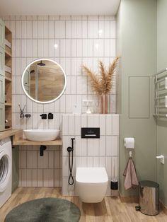 Проект недели: недорогой ремонт с мебелью ИКЕА — INMYROOM Toilet And Bathroom Design, Simple Bathroom, Modern Bathroom Design, Bathroom Interior Design, Bad Inspiration, Bathroom Inspiration, Bedroom Decor For Women, Modern Small Bathrooms, Kitchen Decor Signs