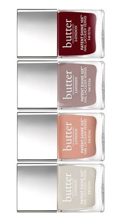 Definitely needing this gorgeous set of nail colors for fall.