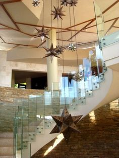 The interior of the Rosewood Mayakoba Hotel - Mexico