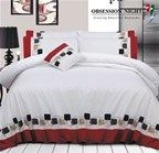 Bed Quilt Cover Set Queen Size Design: Breslin, Obsession Night