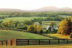 Charlottesville, Virginia & Surrounding Countryside