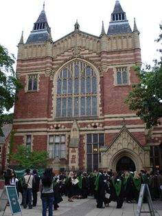 The Great Hall with University of Leeds graduates