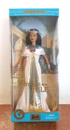 2001 Princess of the Nile Barbie Dolls of the World NRFB (Z204) MINT