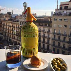 El vermut del Pulitzer, todos los findes aperitivo en la terraza del Hotel