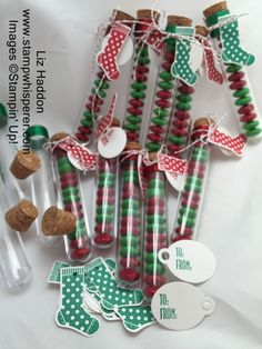 Splitcoaststampers FOOGallery - Test Tube Christmas