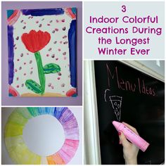 3 Indoor Colorful Creations During The Longest Winter Ever #colorfulcreations #shop