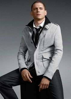 Wentworth Miller I don't care that he's gay, actually proud that he came out...I'm still crushing on him!
