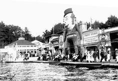 Midway, White City Amusement Park, Worcester, Massachusetts 1908