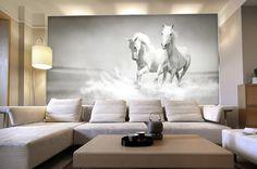 Horses Custom Mural Wallpaper - free shipping worldwide