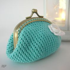 Monederos de ganchillo on Pinterest | Ganchillo, Crochet Coin Purse ...