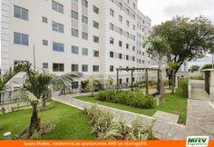 Paisagismo do Malbec. Condomínio fechado de apartamentos localizado em Maringá / RJ