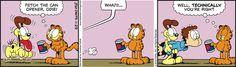 Garfield Comic Strip, November 29, 2016     on GoComics.com