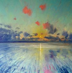 Mike Hindle  Pink Cloud, St Ives Bay